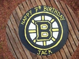 Bruins Cake