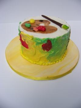 """Rose Petal Sorbet"" Cake"