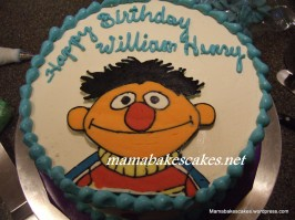 Sesame St. Cake Ernie