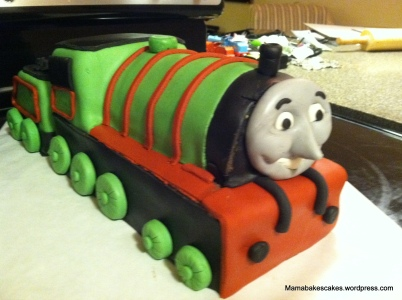 Henry the train Cake